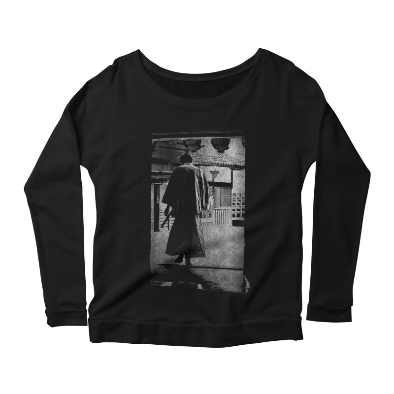 Samurai Samurai Women's Scoop Neck Longsleeve T-Shirt by blancajp's Artist Shop