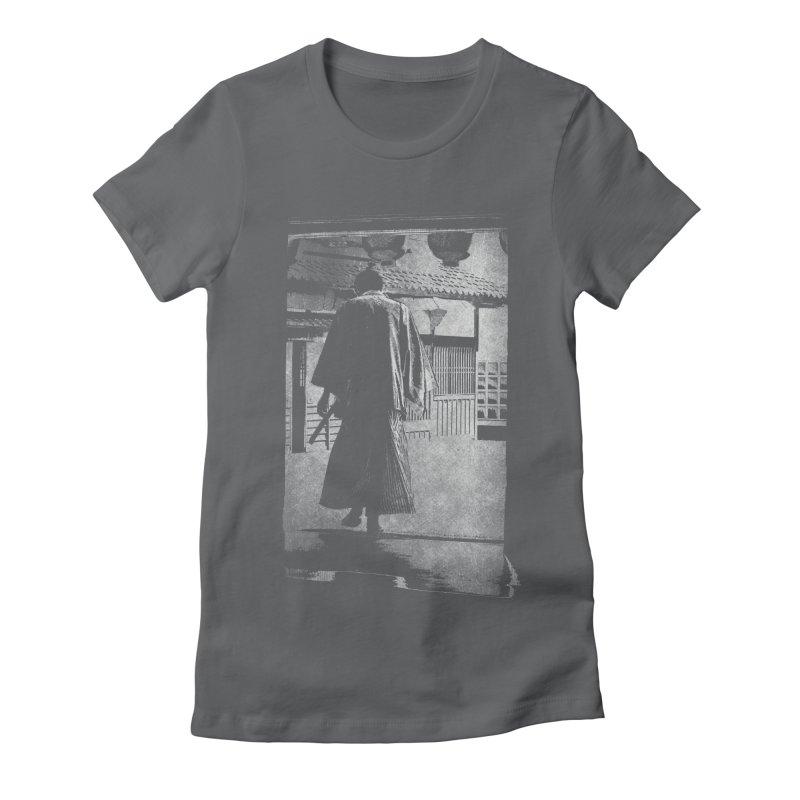Samurai Samurai Women's Fitted T-Shirt by blancajp's Artist Shop