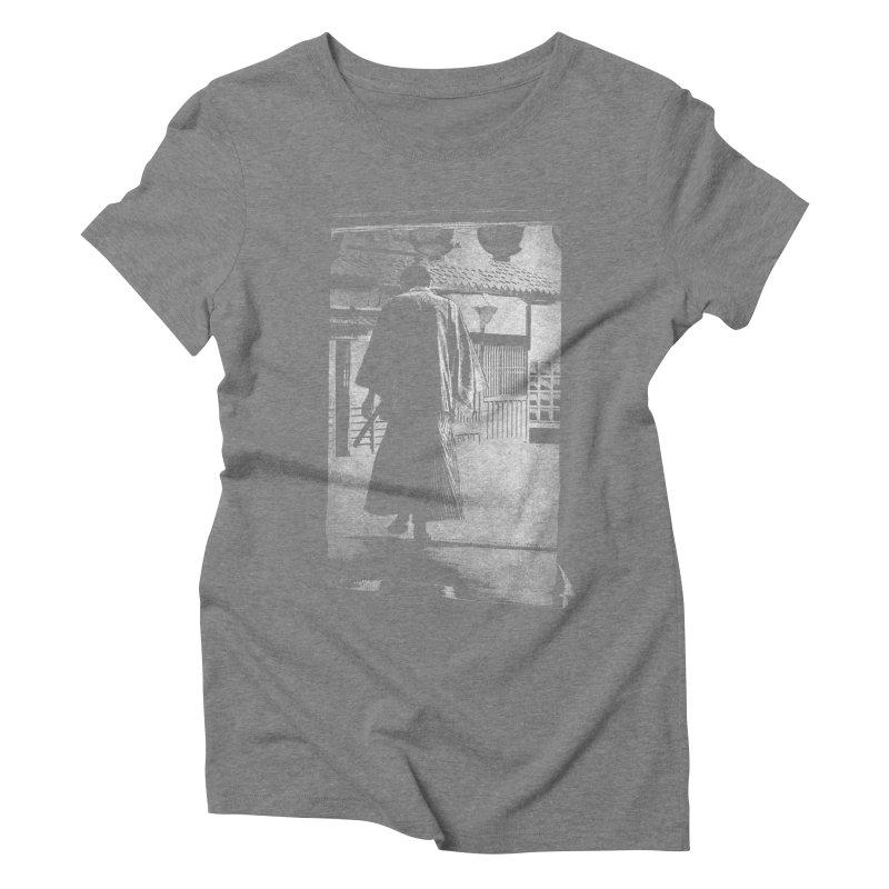 Samurai Samurai Women's Triblend T-Shirt by blancajp's Artist Shop