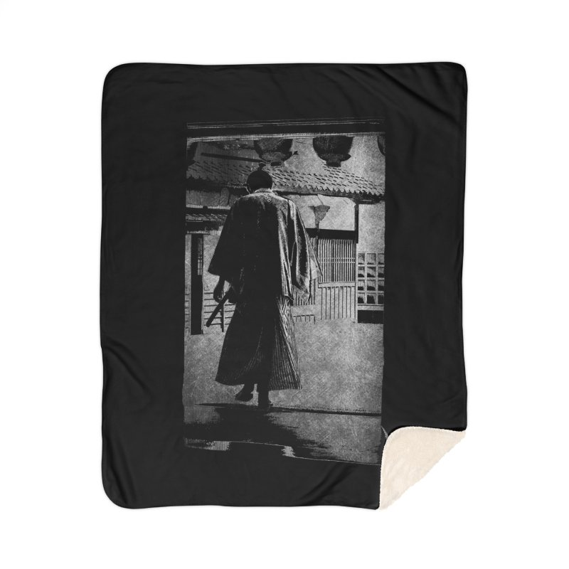 Samurai Samurai Home Sherpa Blanket Blanket by blancajp's Artist Shop