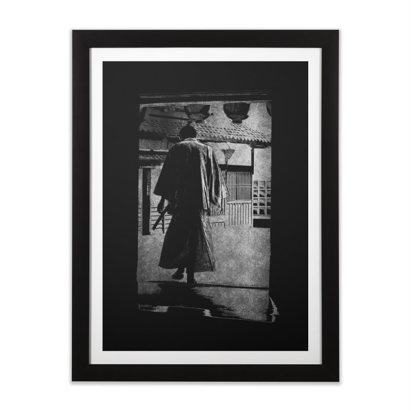 Samurai Samurai Home Framed Fine Art Print by blancajp's Artist Shop