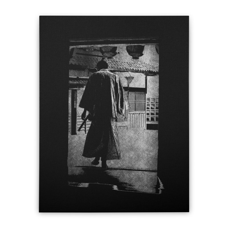 Samurai Samurai Home Stretched Canvas by blancajp's Artist Shop