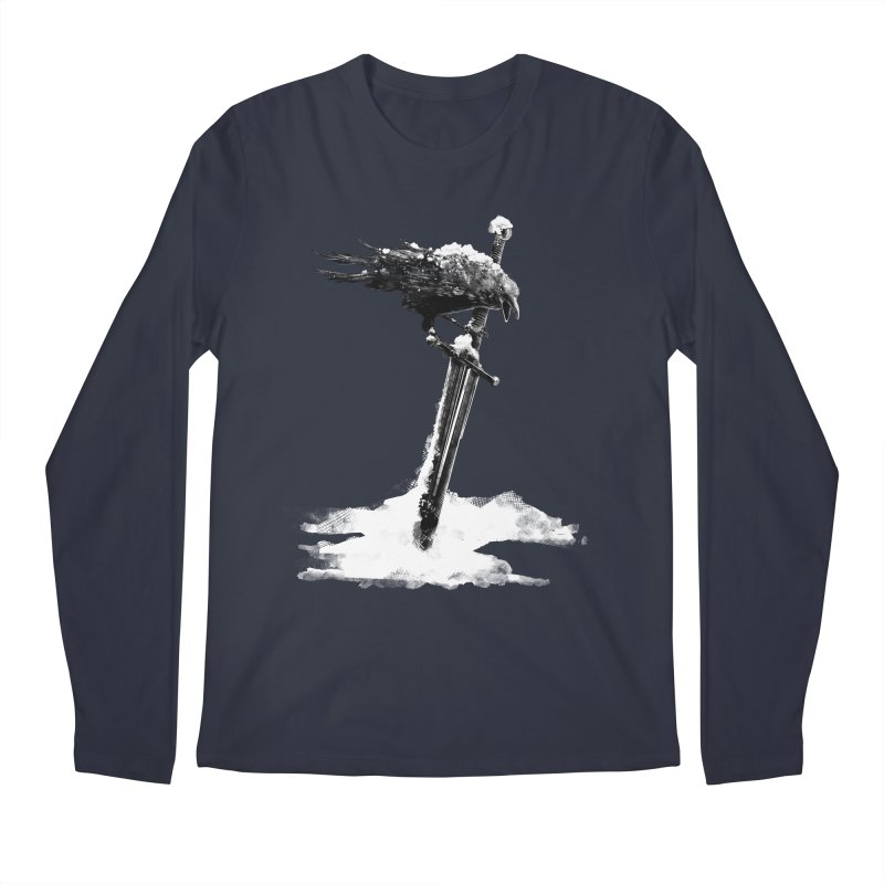 Snow Men's Regular Longsleeve T-Shirt by blancajp's Artist Shop