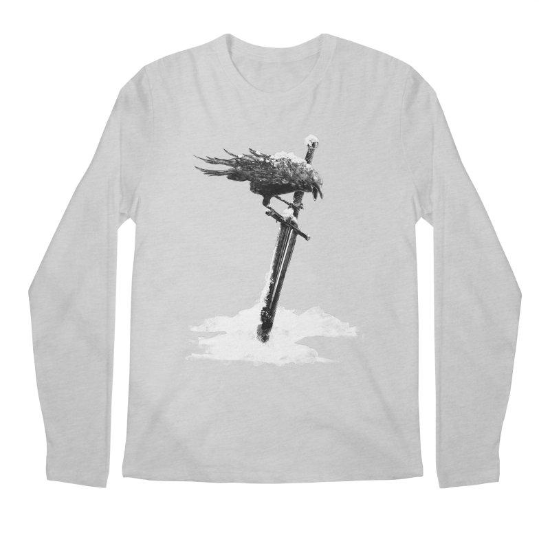 Snow Men's Regular Longsleeve T-Shirt by blancajp's Artist Shop