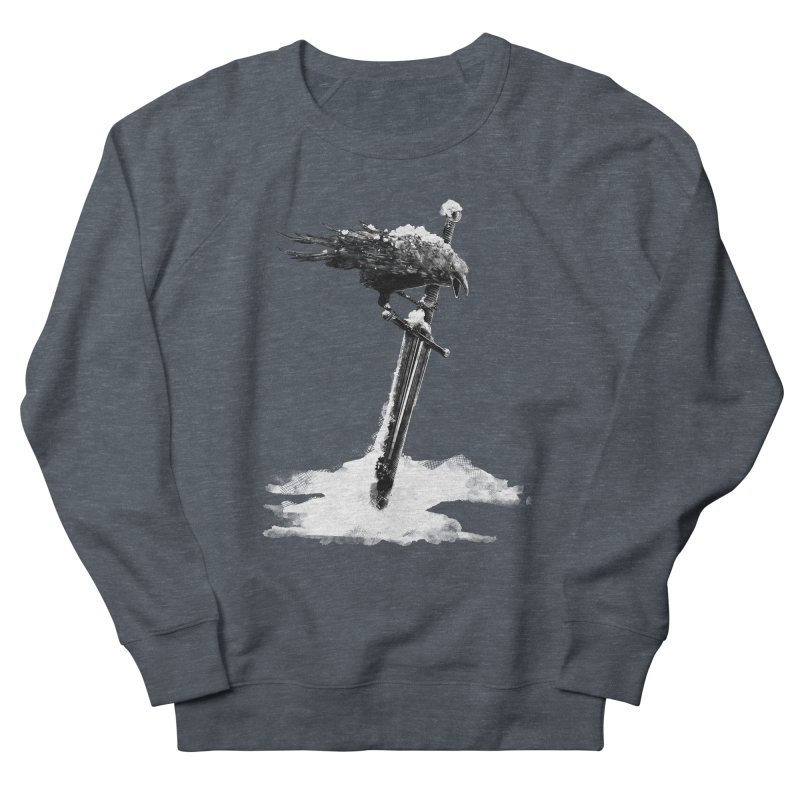 Snow Women's French Terry Sweatshirt by blancajp's Artist Shop