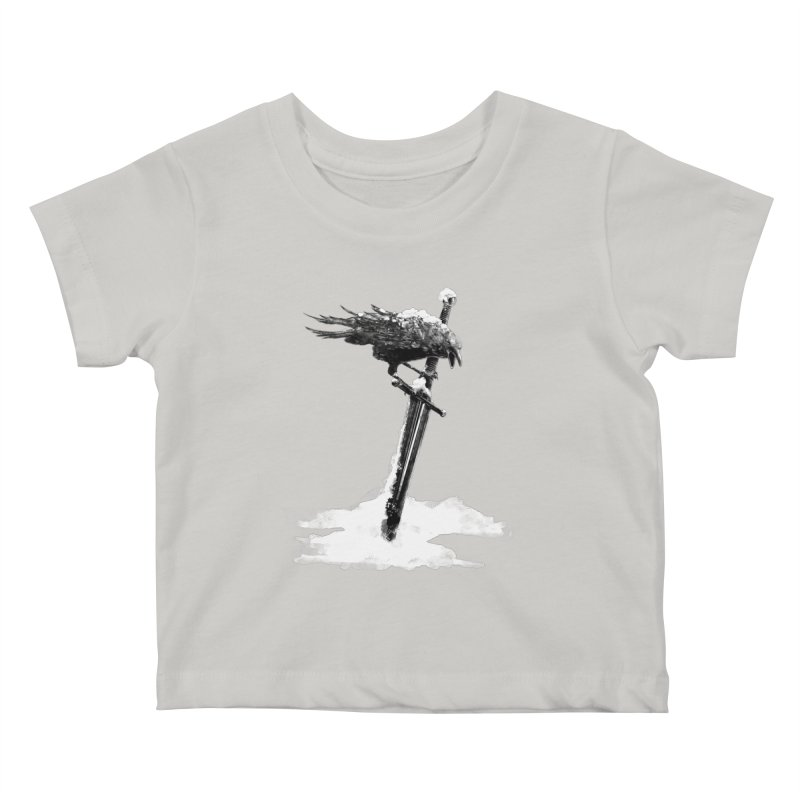 Snow Kids Baby T-Shirt by blancajp's Artist Shop