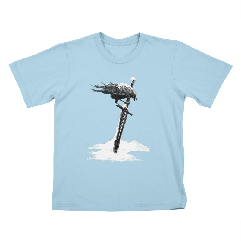 Snow Kids T-shirt by blancajp's Artist Shop