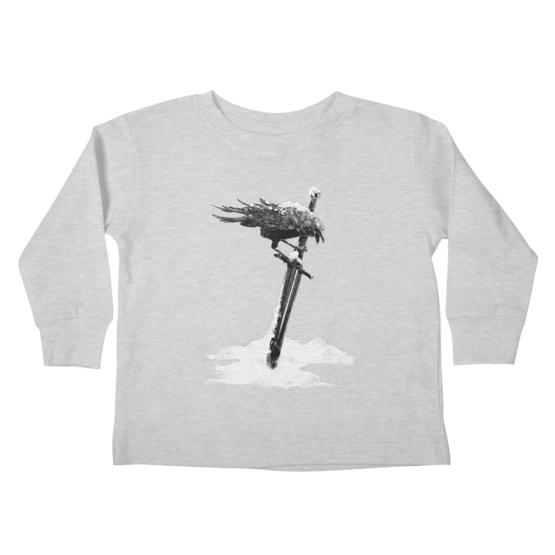Snow Kids Toddler Longsleeve T-Shirt by blancajp's Artist Shop