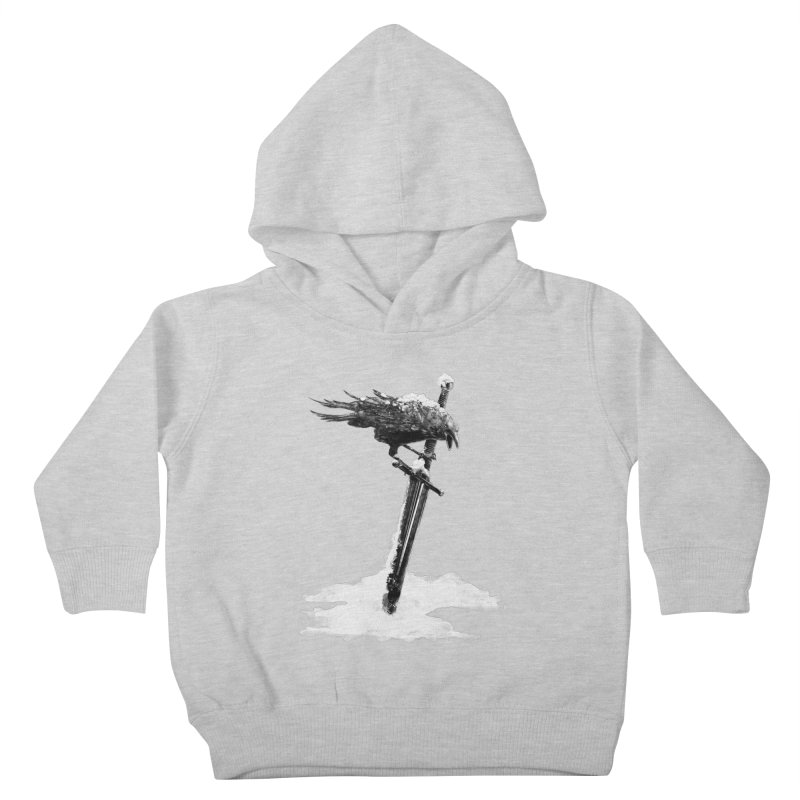 Snow Kids Toddler Pullover Hoody by blancajp's Artist Shop
