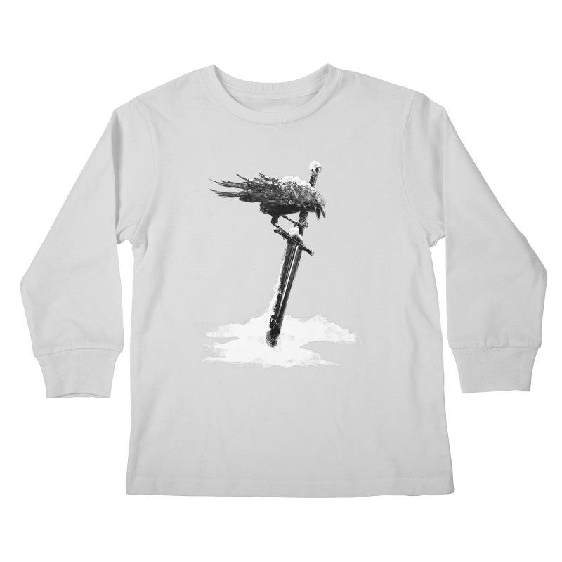Snow Kids Longsleeve T-Shirt by blancajp's Artist Shop