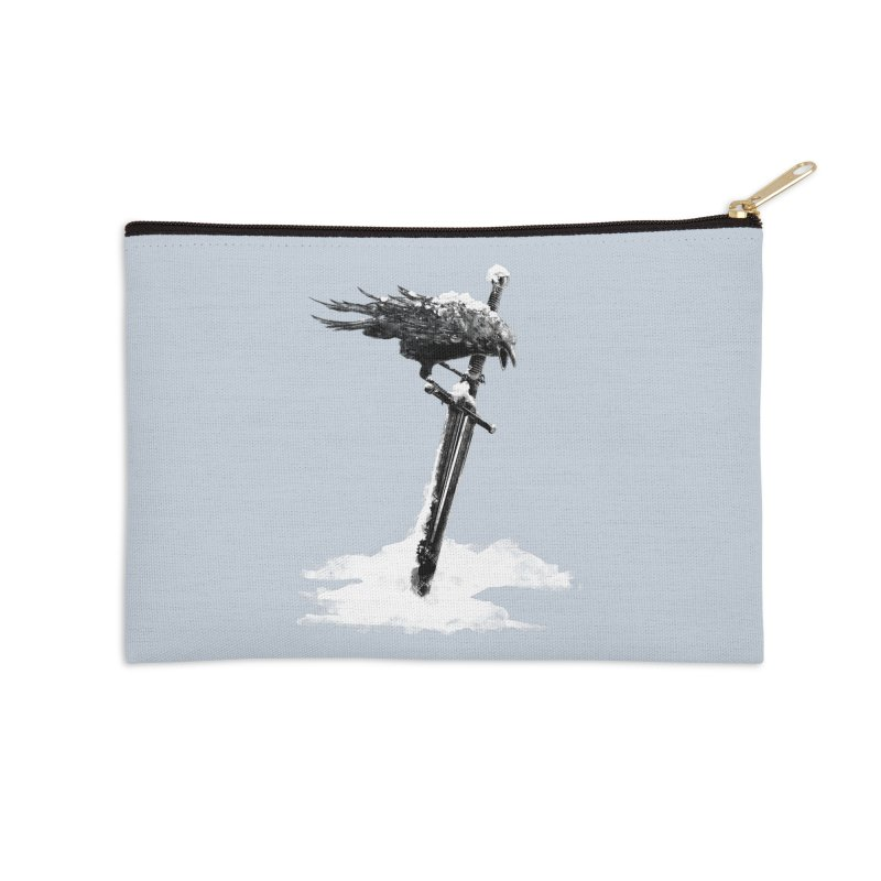 Snow Accessories Zip Pouch by blancajp's Artist Shop