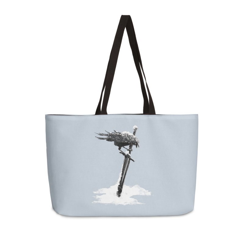 Snow Accessories Weekender Bag Bag by blancajp's Artist Shop