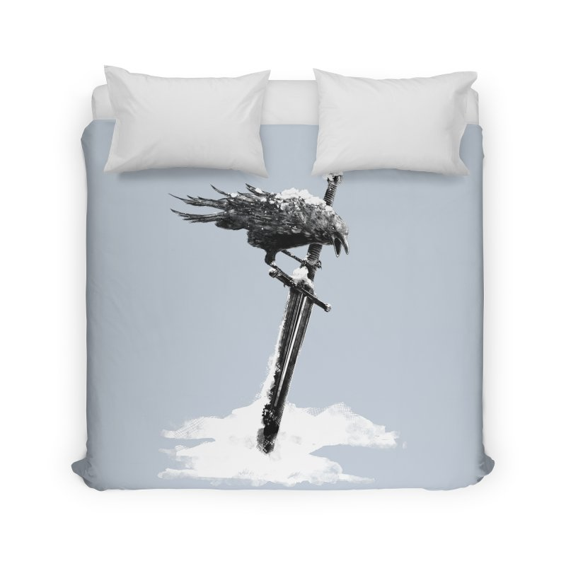 Snow Home Duvet by blancajp's Artist Shop