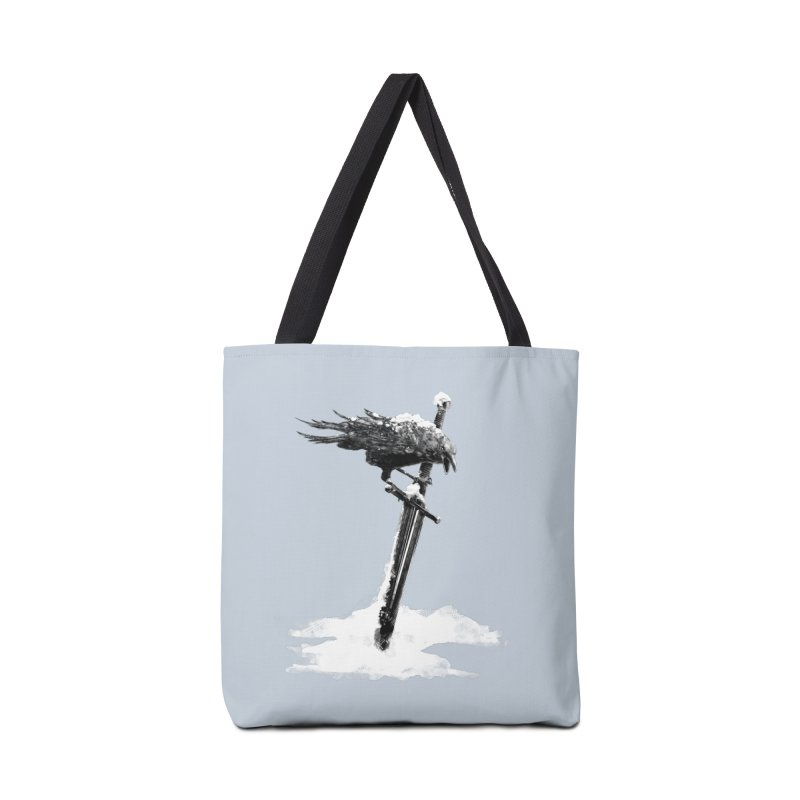 Snow Accessories Tote Bag Bag by blancajp's Artist Shop