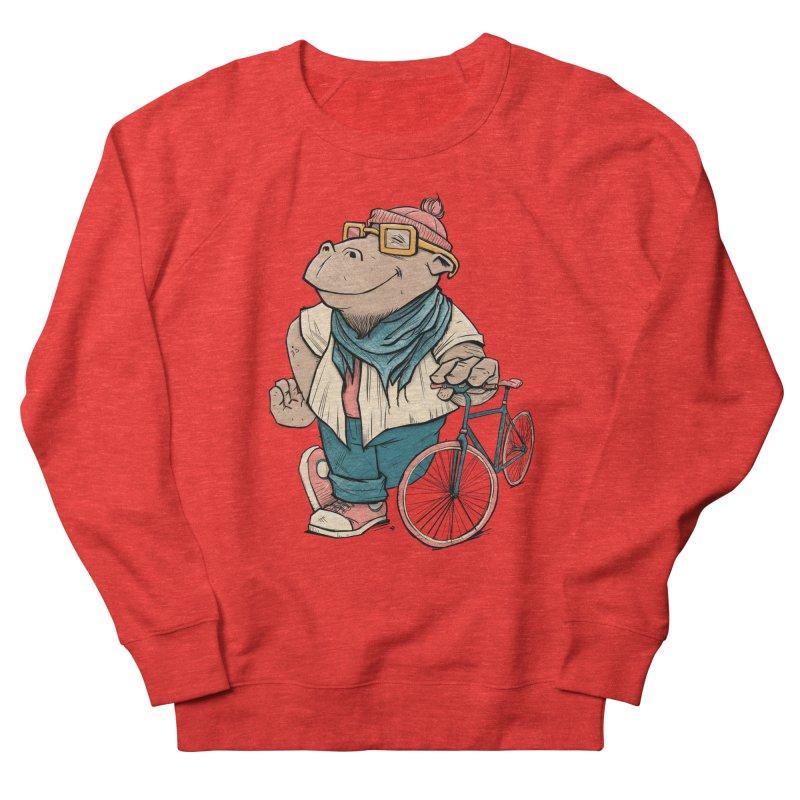Hipster Hippo Women's Sweatshirt by blancajp's Artist Shop