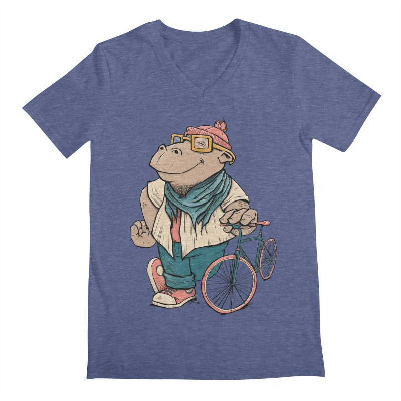 Hipster Hippo   by blancajp's Artist Shop
