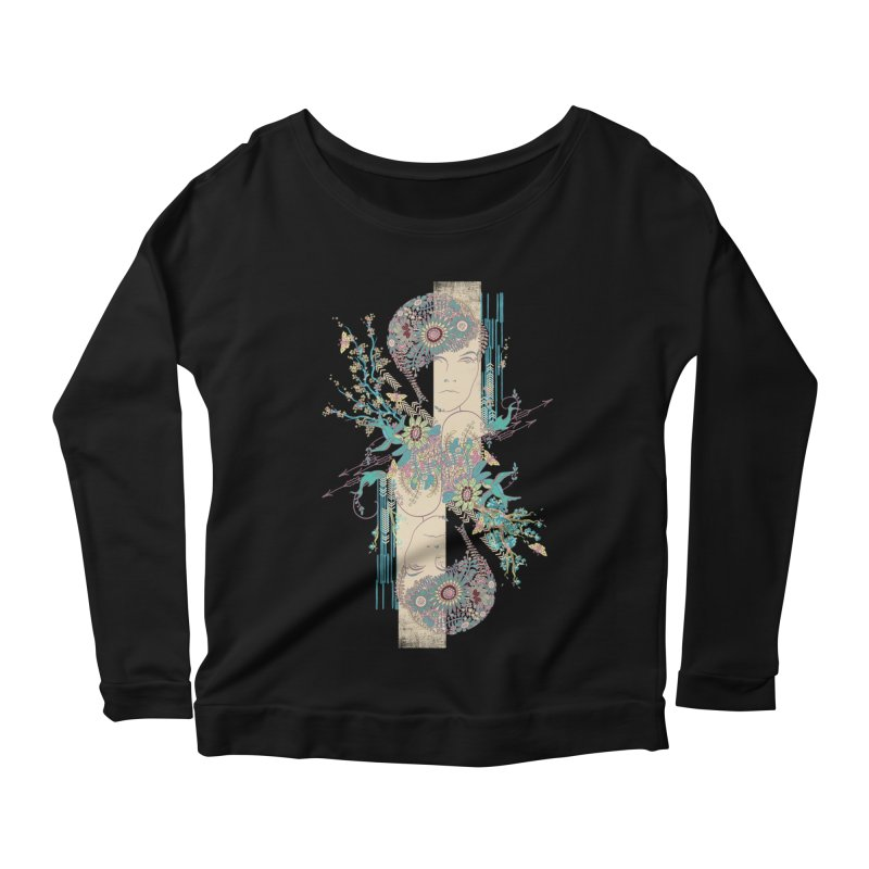 summer Women's Scoop Neck Longsleeve T-Shirt by blancajp's Artist Shop