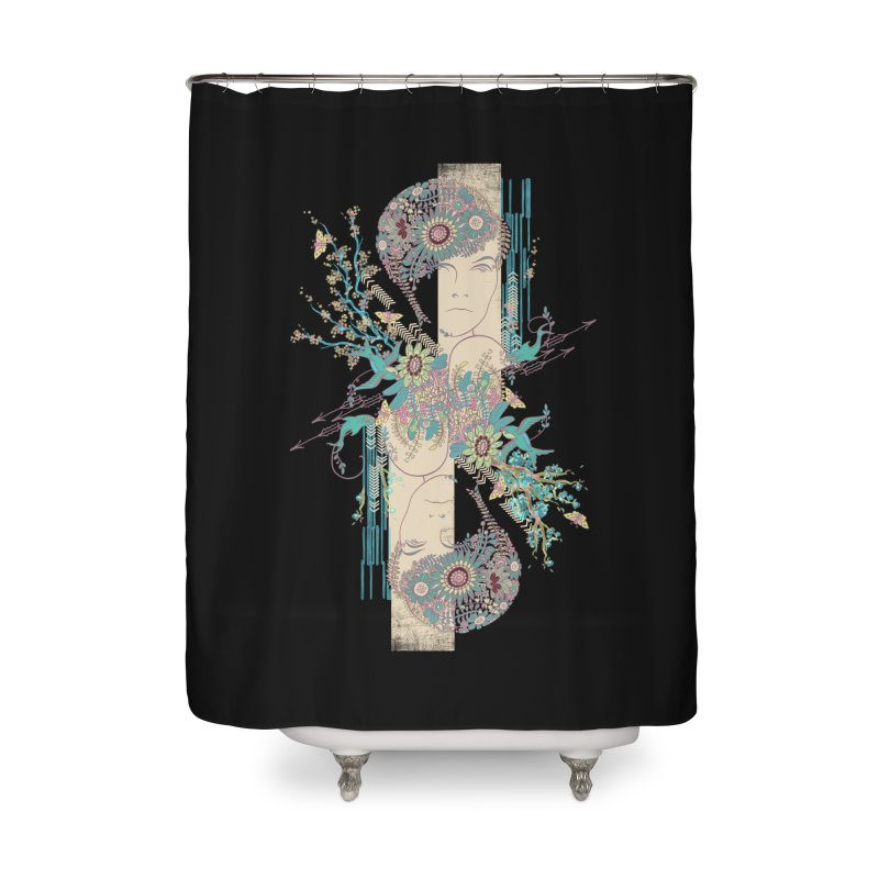 summer Home Shower Curtain by blancajp's Artist Shop