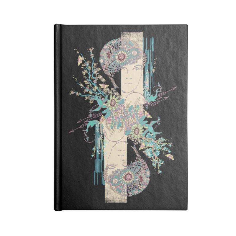summer Accessories Blank Journal Notebook by blancajp's Artist Shop