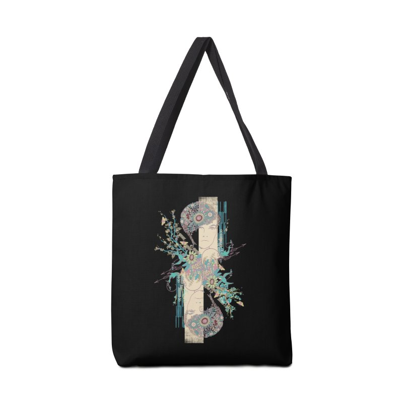 summer Accessories Tote Bag Bag by blancajp's Artist Shop