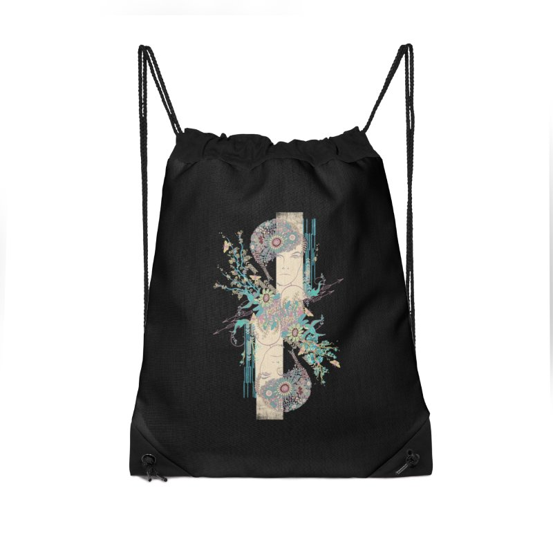 summer Accessories Drawstring Bag Bag by blancajp's Artist Shop