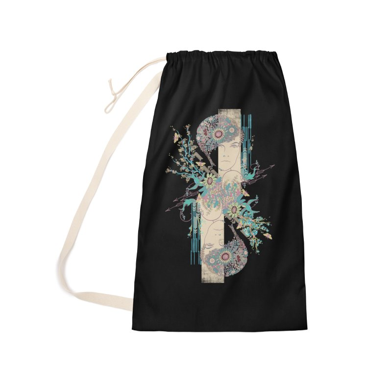summer Accessories Laundry Bag Bag by blancajp's Artist Shop