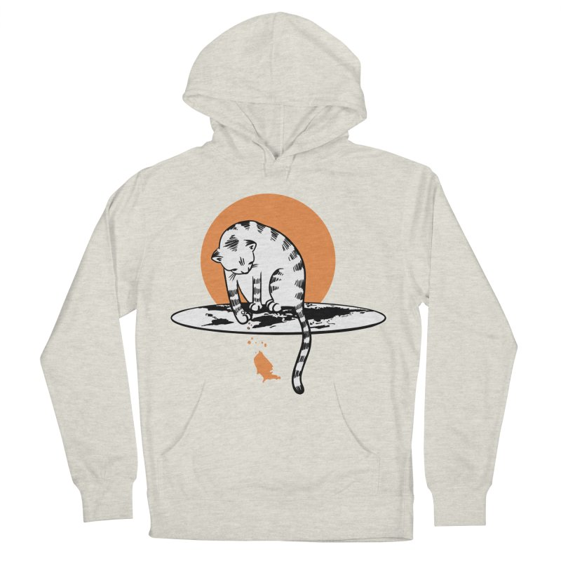 Flat Women's French Terry Pullover Hoody by blancajp's Artist Shop