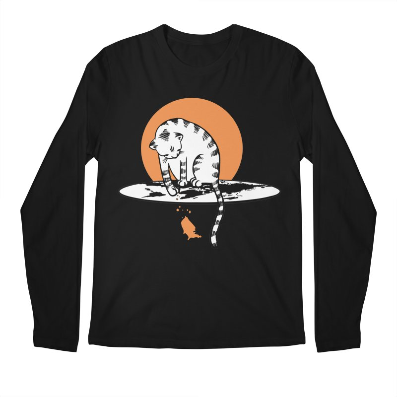 Flat Men's Regular Longsleeve T-Shirt by blancajp's Artist Shop