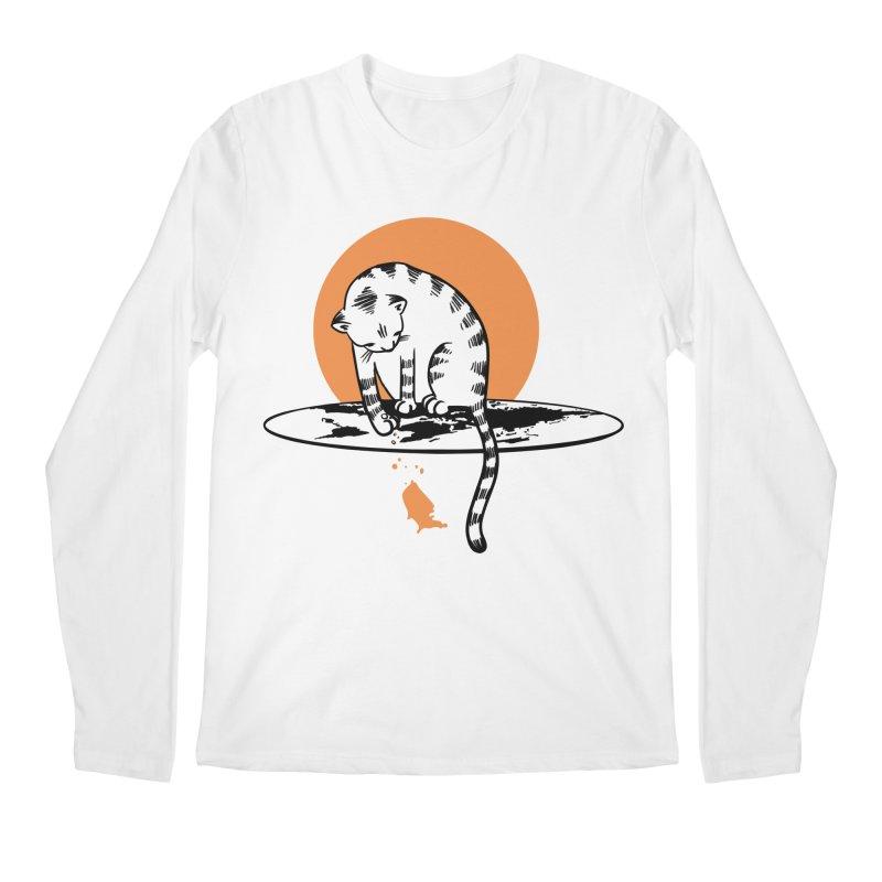 Flat Men's Regular Longsleeve T-Shirt by blancajp's Artist Shop