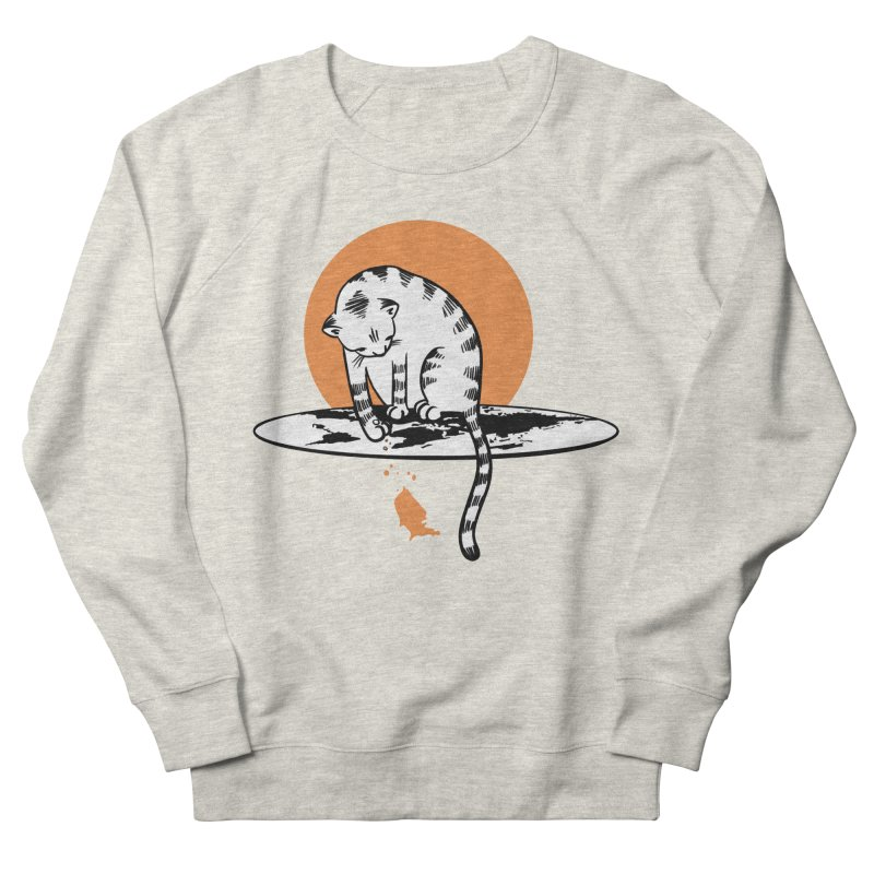 Flat Men's French Terry Sweatshirt by blancajp's Artist Shop