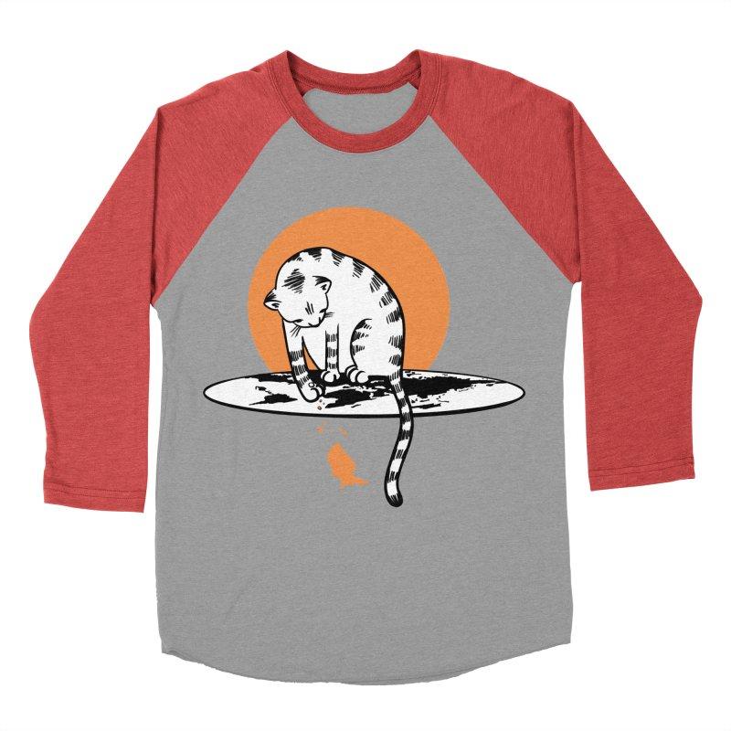Flat Women's Baseball Triblend Longsleeve T-Shirt by blancajp's Artist Shop