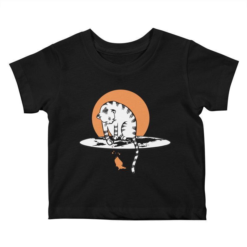 Flat Kids Baby T-Shirt by blancajp's Artist Shop