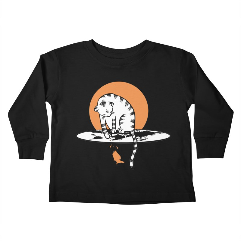 Flat Kids Toddler Longsleeve T-Shirt by blancajp's Artist Shop