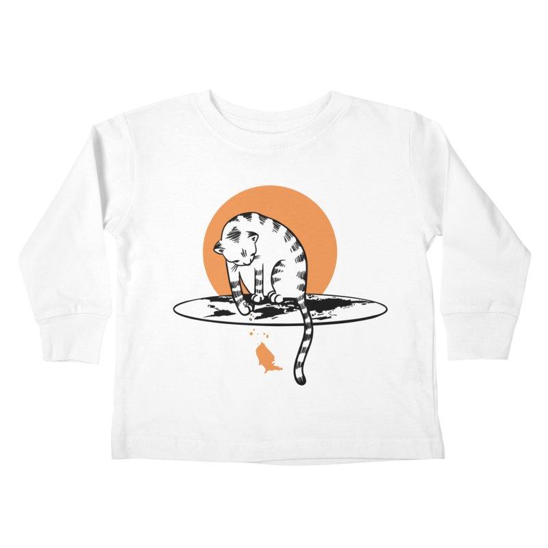 Flat Kids Toddler Longsleeve T-Shirt by blancajp's Artist Shop
