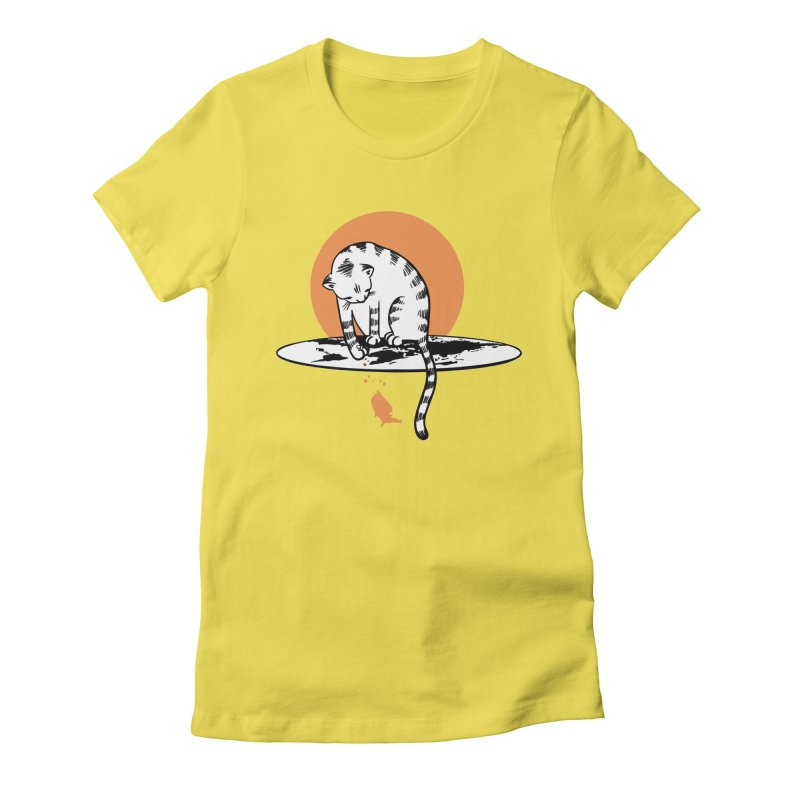 Flat Women's T-Shirt by blancajp's Artist Shop