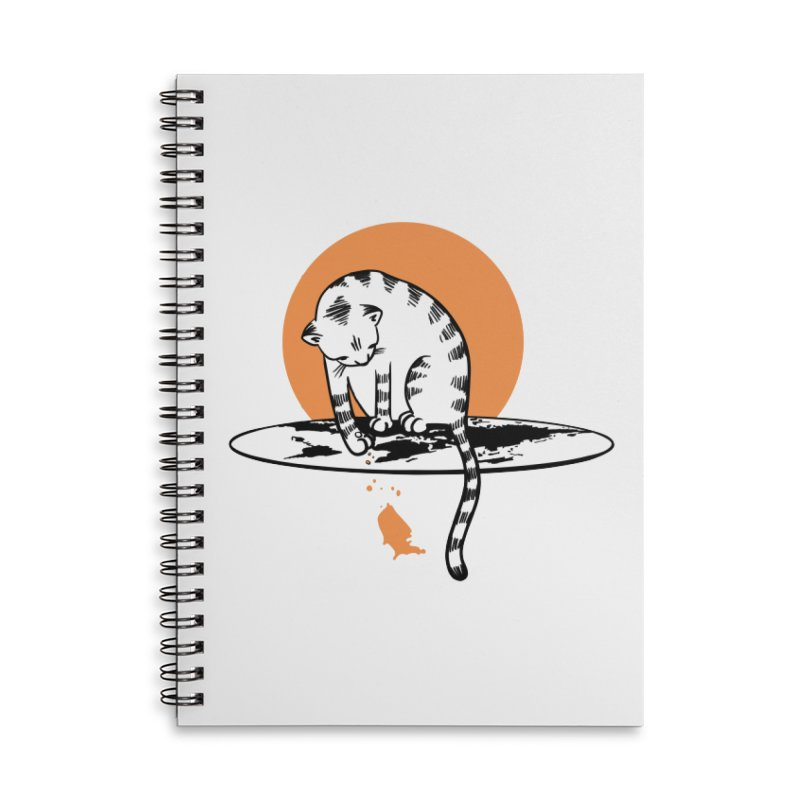 Flat Accessories Lined Spiral Notebook by blancajp's Artist Shop