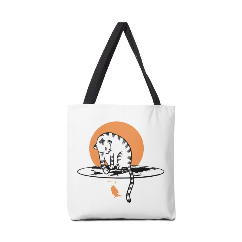 Flat Accessories Tote Bag Bag by blancajp's Artist Shop