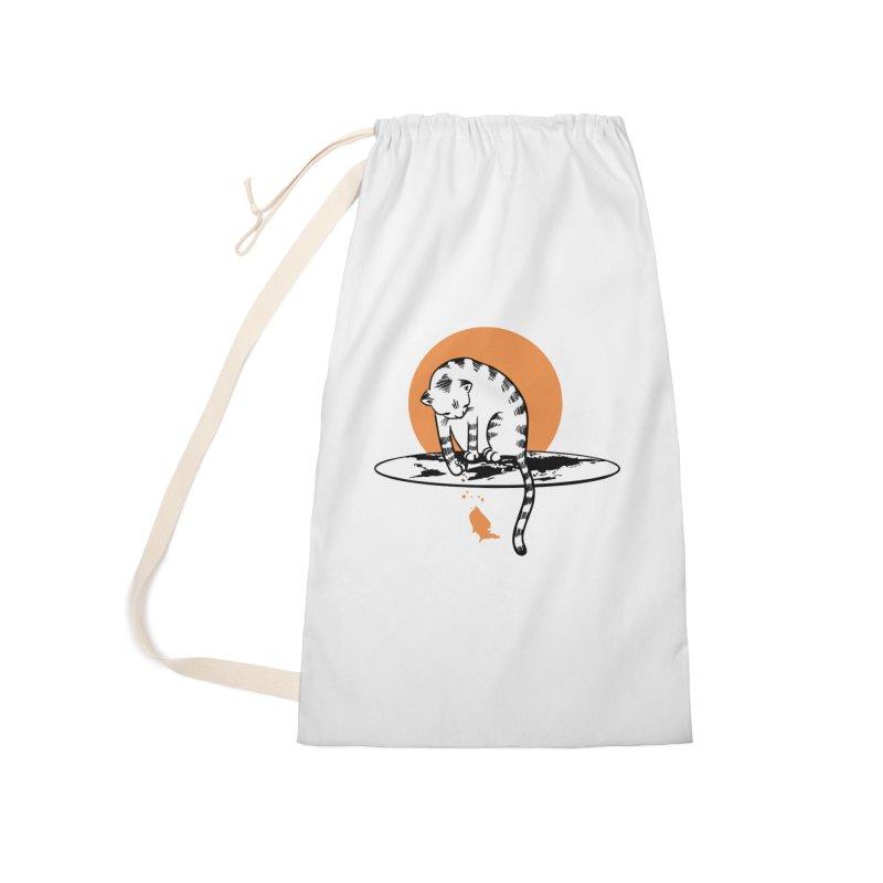 Flat Accessories Bag by blancajp's Artist Shop