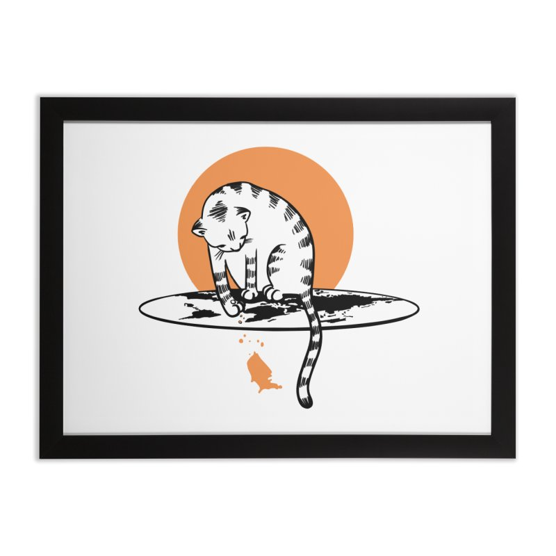 Flat Home Framed Fine Art Print by blancajp's Artist Shop