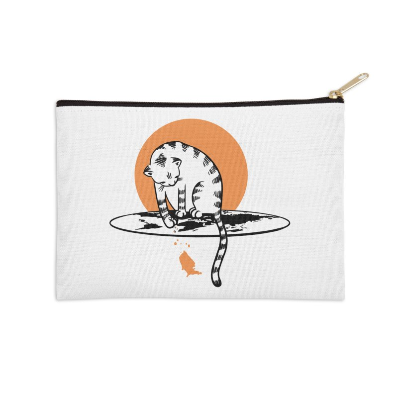 Flat Accessories Zip Pouch by blancajp's Artist Shop