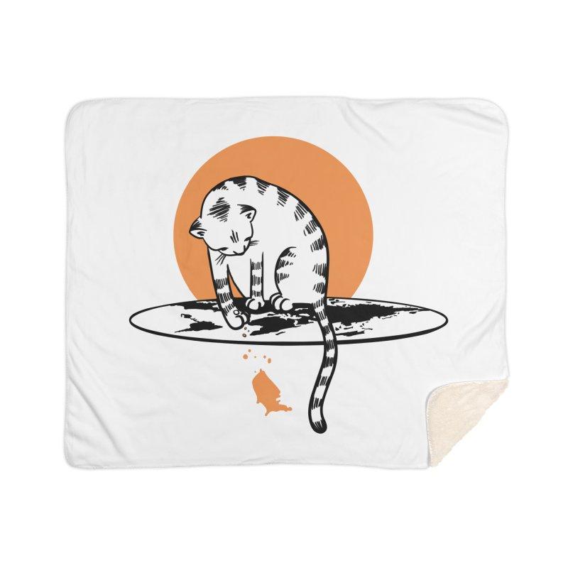Flat Home Sherpa Blanket Blanket by blancajp's Artist Shop