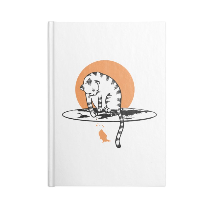 Flat Accessories Lined Journal Notebook by blancajp's Artist Shop