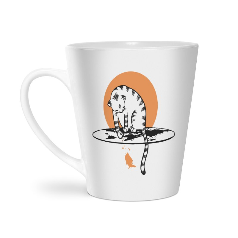 Flat Accessories Latte Mug by blancajp's Artist Shop