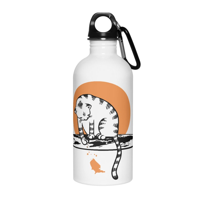 Flat Accessories Water Bottle by blancajp's Artist Shop