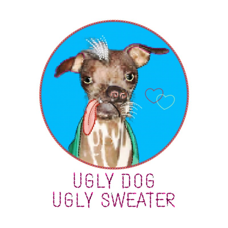 Ugly Dog Ugly Sweater by Cliff Blank + DOGMA Portraits