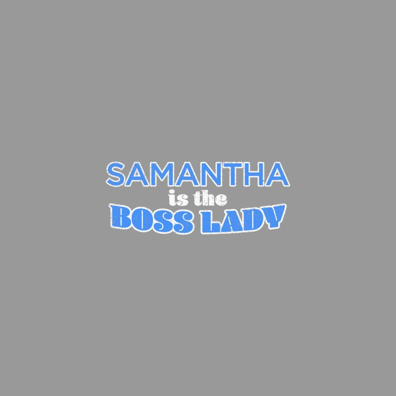 Samantha is the Boss Lady by Cliff Blank + DOGMA Portraits