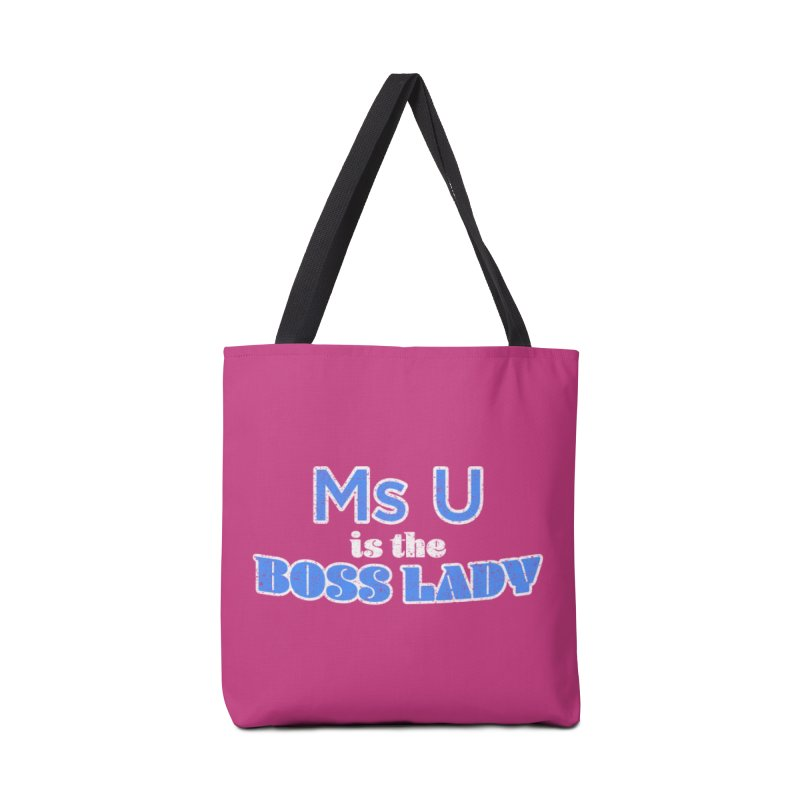 Ms U is the Boss Lady Accessories Bag by Cliff Blank + DOGMA Portraits