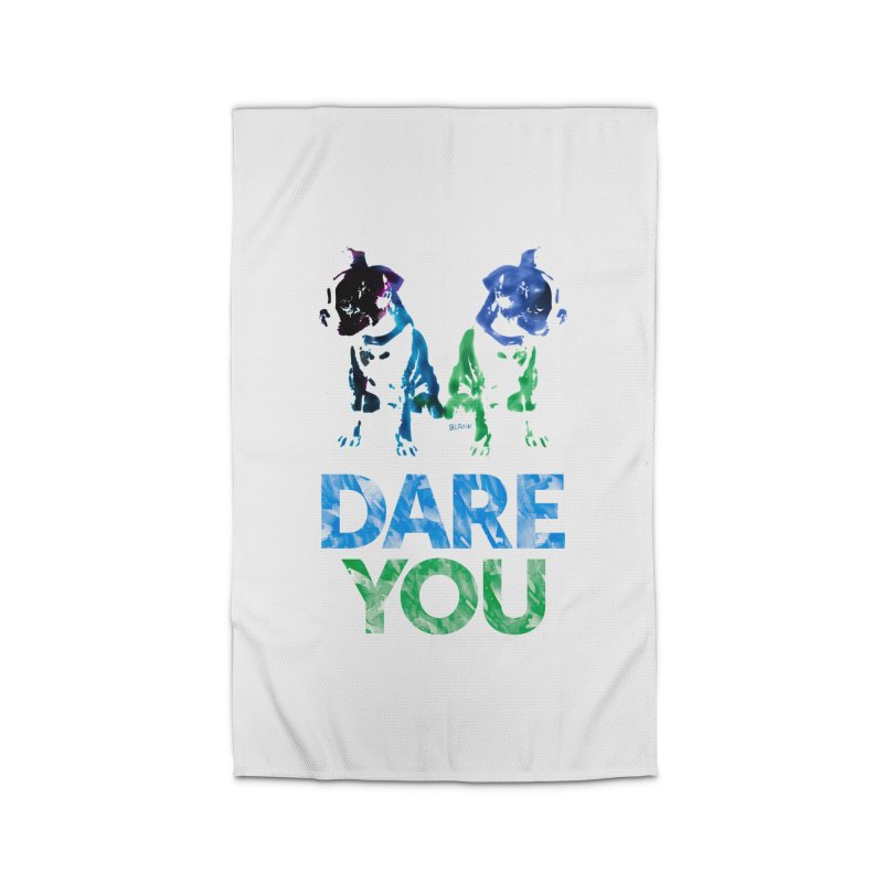 Double Dog Dare You Home Rug by Cliff Blank + DOGMA Portraits