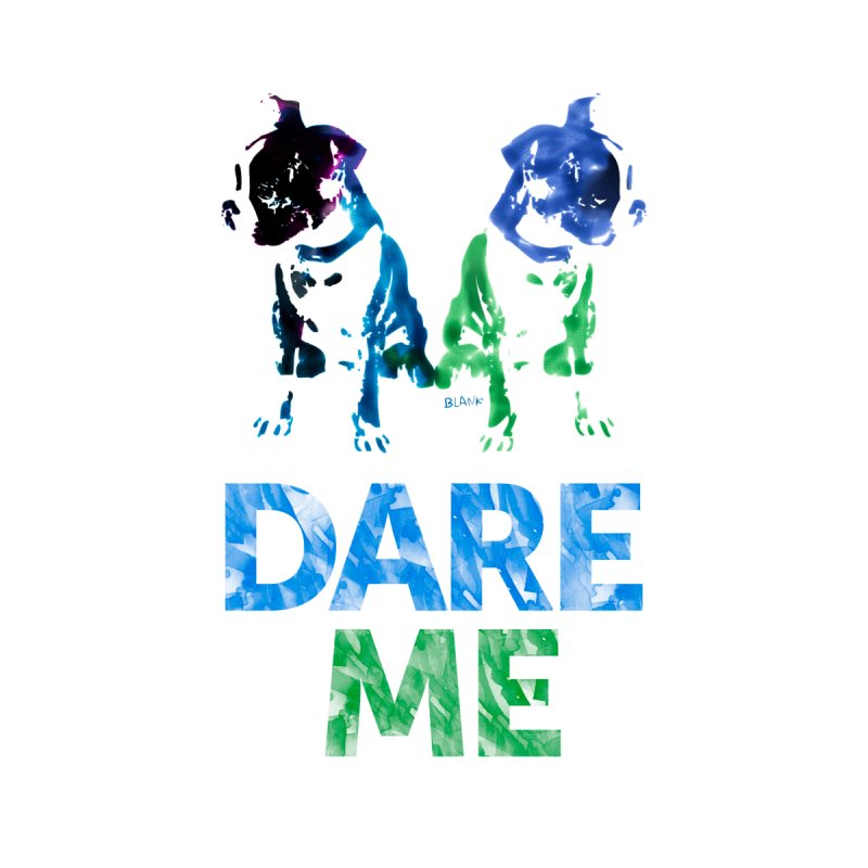 Double Dog Dare Me Accessories Beach Towel by Cliff Blank + DOGMA Portraits