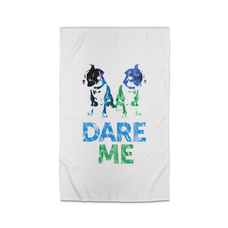 Double Dog Dare Me Home Rug by Cliff Blank + DOGMA Portraits